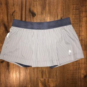 Head Tennis Skirt Pleated Striped